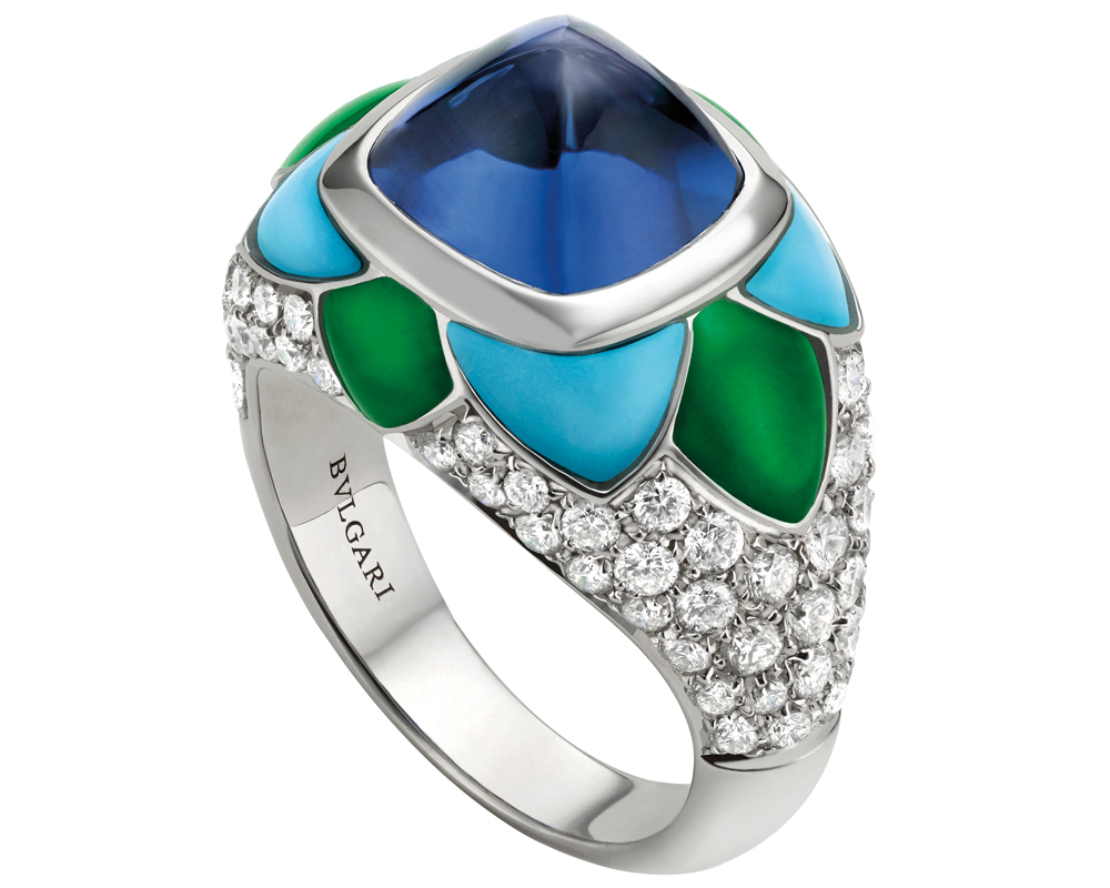 schmuck bulgari schmuckkollketion edelsteine italienisch italien diamantschmuck