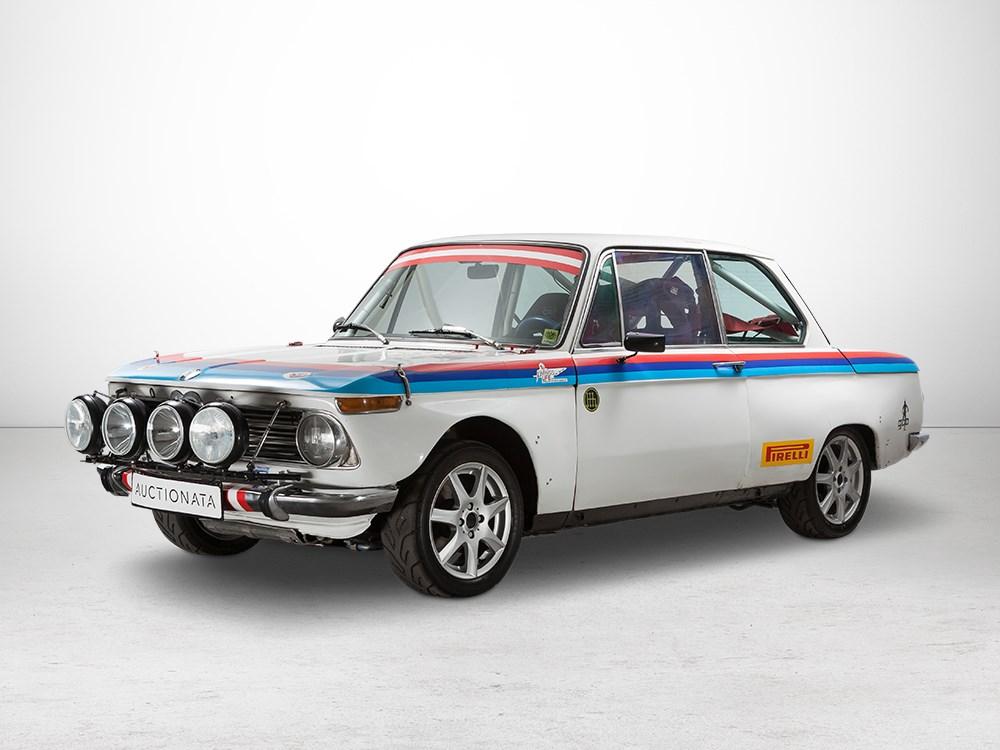 Auctionata_BMW 2002 TI – Rallye mit OSK Wagenpass, Baujahr 1970