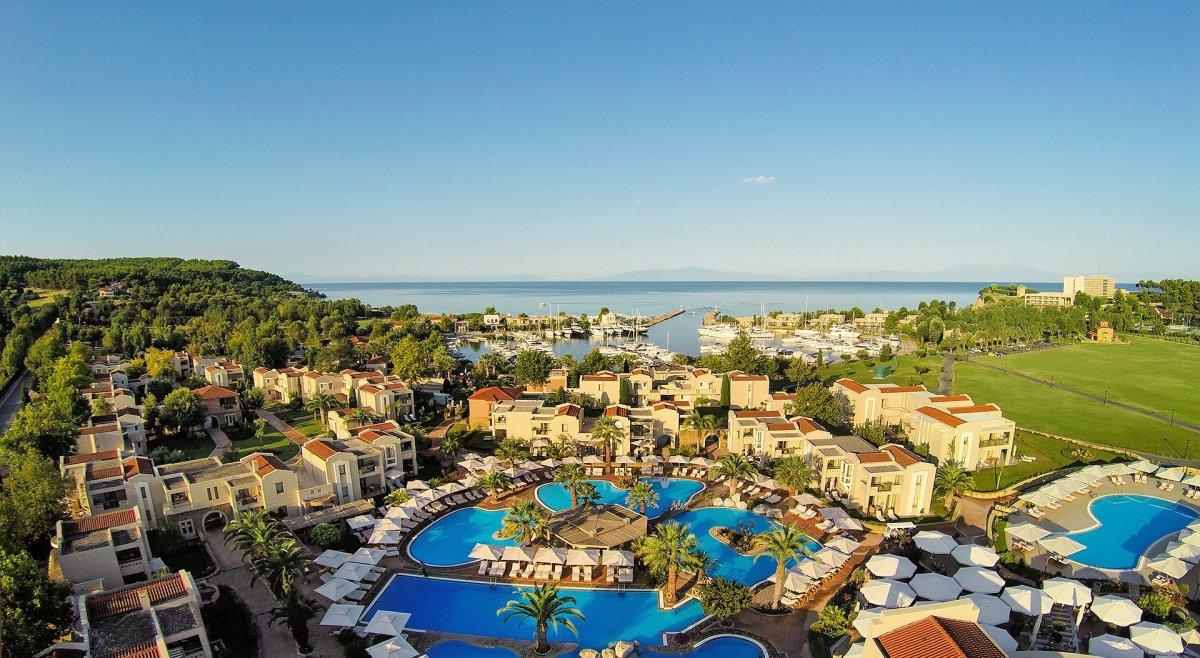 Chalkidiki_Aerial_Credit Sani Resort