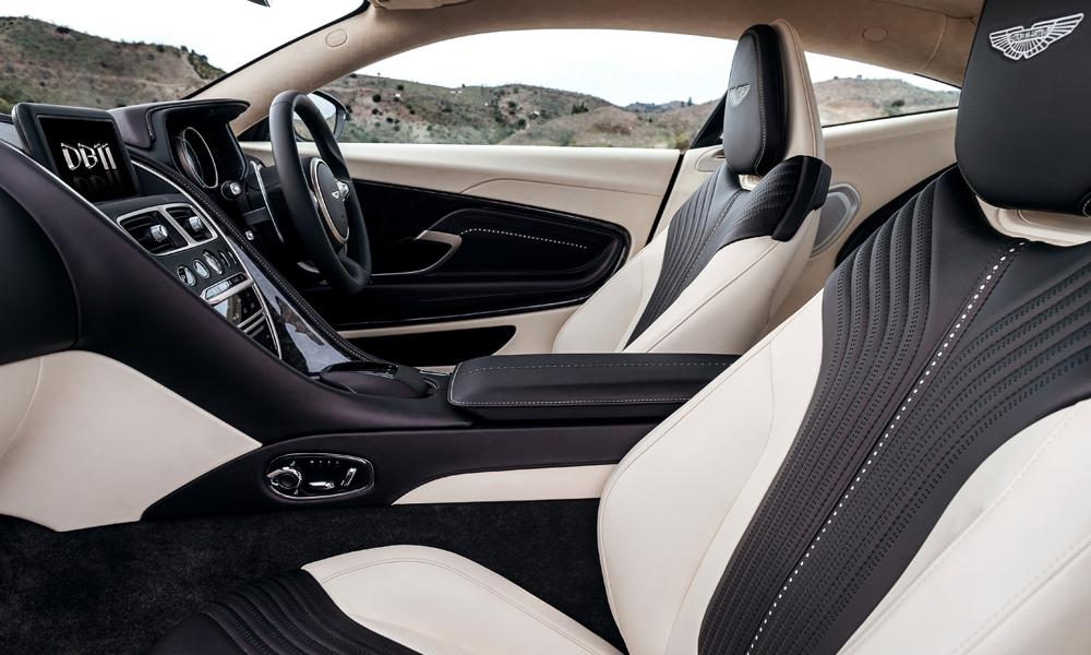 aston martin db11 sportwagen supersportwagen modell modelle leistung innenraum