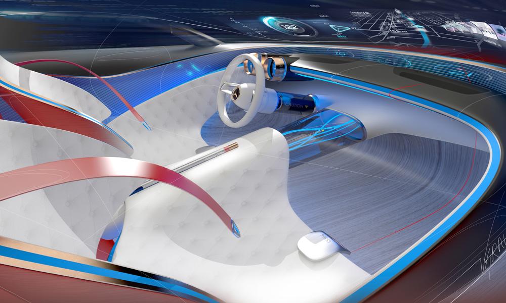 mercedes-benz mercedes maybach 6 designstudie automobile luxusklasse coupe elektroauto zukunftsvision