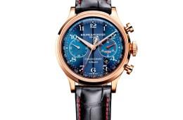 baume & mercier uhr uhren luxusuhren luxusuhr limitiert chronograph edelstahl
