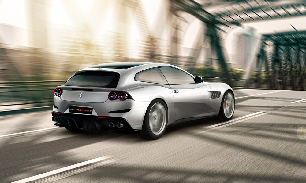 ferrari gtc4lusso-t gtc4lusso neuheit neuer neu neues modell viersitzer turbo v8 interieur