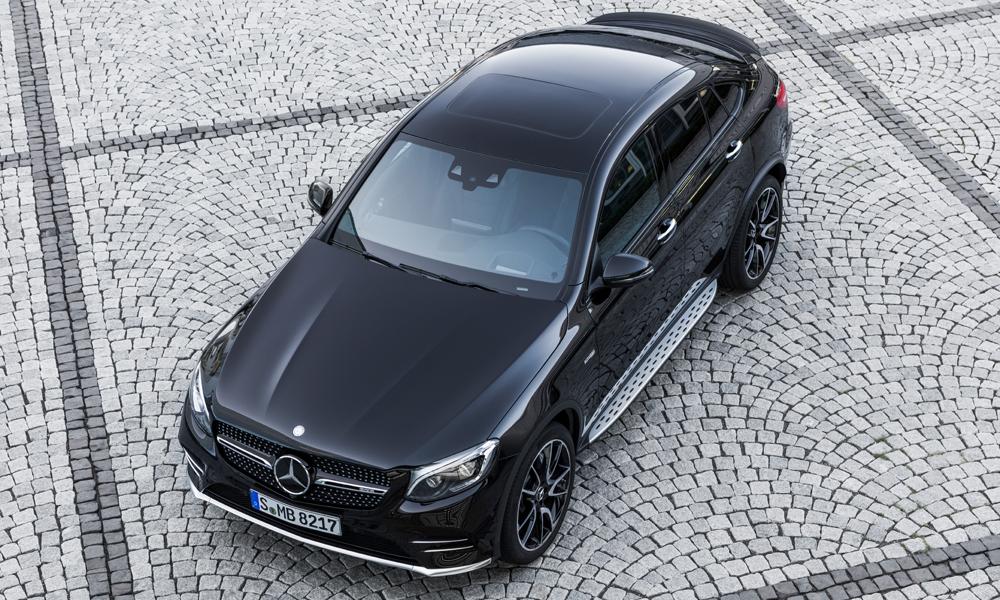mercedes amg glc 43 4matic coupé modell modelle neu neuheiten neue allrad