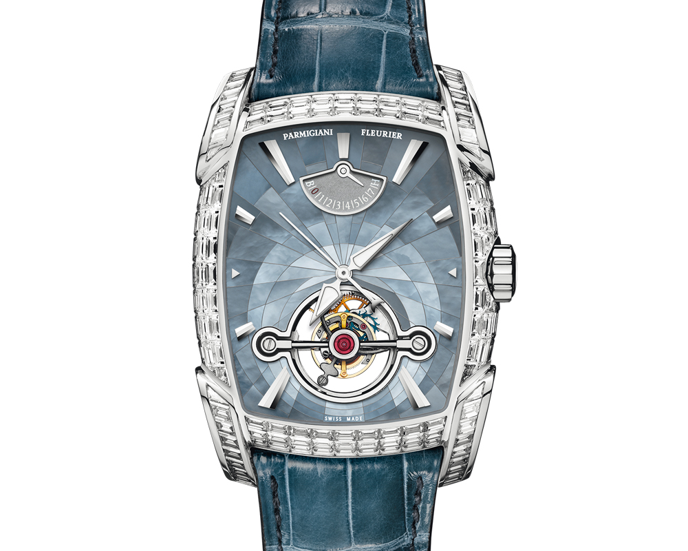 parmigiani-fleurier tourbillon luxusuhr diamanten komplikation manufaktur