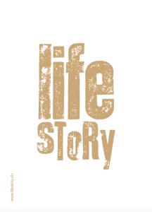 lifestory-postkarte