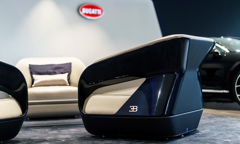 bugatti veyron chiron merchandising möbel designermöbel sportwagen bugatti-home-collection inneneinrichtung