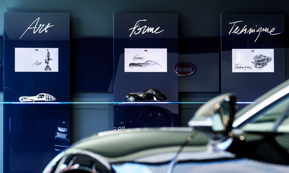bugatti veyron chiron merchandising möbel designermöbel sportwagen bugatti-home-collection luxusmöbel