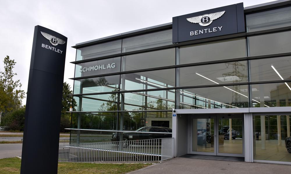 bentley schweiz verkauf garage zürich schmohl ag luxuslimousinen sportwagen