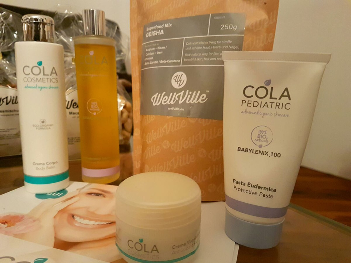 Geisha Superfood Mix und Cola Cosmetics