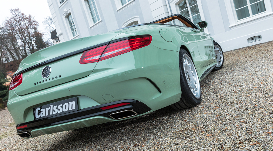 carlsson mercedes-benz cabrio cabriolet s-klasse leistungssteigerung tuning preise