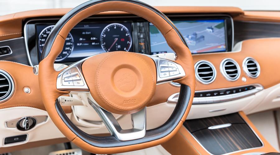 carlsson mercedes-benz cabrio cabriolet s-klasse leistungssteigerung tuning innenraum interieur