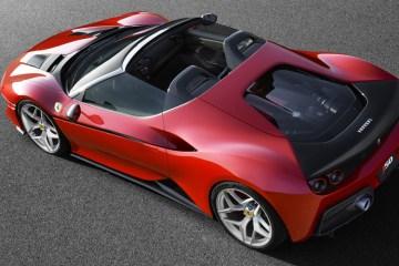 ferrari j50 zweisitzer roadster modell modelle sportwagen neuheit
