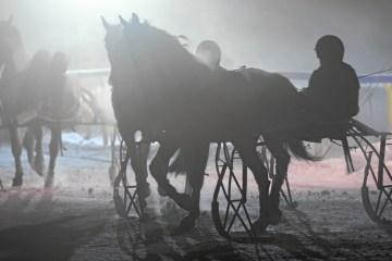 night turf st.moritz 2017 sport pferdesport pferderennen schweiz engadin wintersport