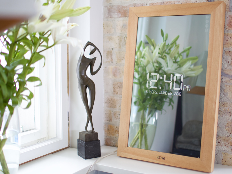 dirror spiegel digital wohnen accessoires internet fernsehen spiegelbild