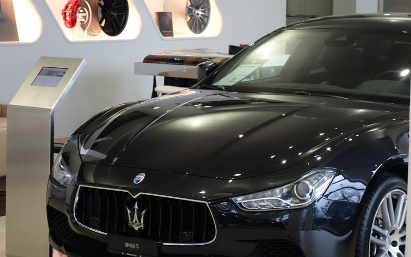 zürich schweiz auto autos luxus maserati limousinen verkauf
