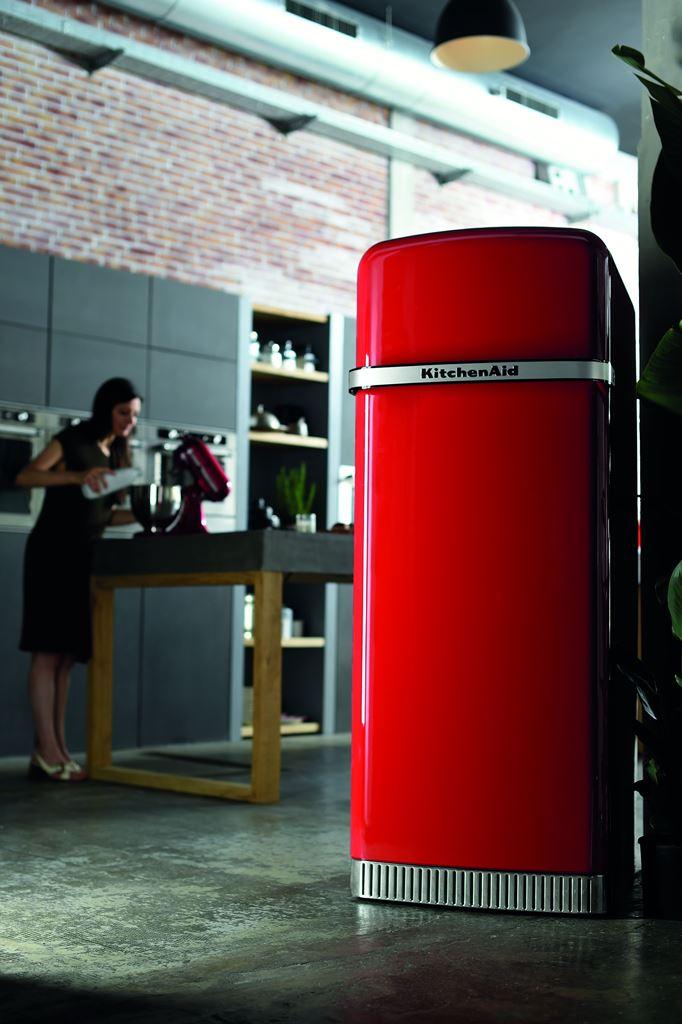 Retro Kühlschrank Kitchenaid : Eine stilikone in jeder küche der iconic fridge von kitchenaid