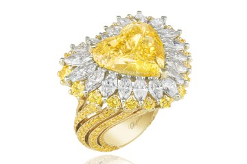 chopard jewellery diamonds yellow high creations