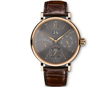 iwc portofino timepiece watches collection stainless steel red gold