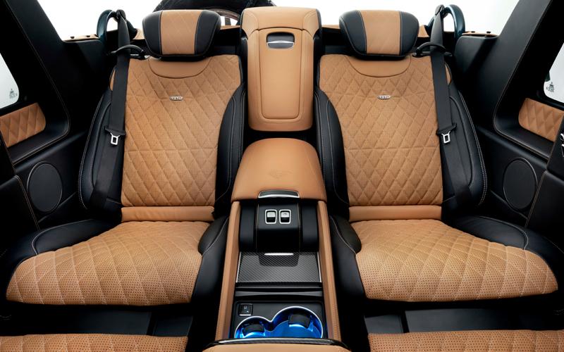 mercedes-maybach g-klasse geländewagen luxus offroad limitiert g-650 landaulet amg offroader interieur