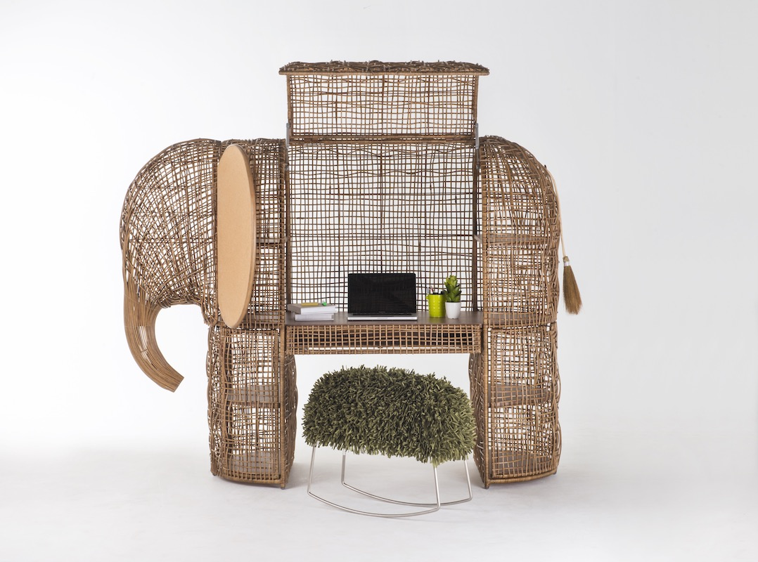 kenneth cobonpue design furniture designer furniture-design furniture-designer rattan elephant