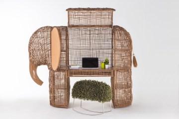kenneth cobonpue design furniture designer furniture-design furniture-designer rattan elephant