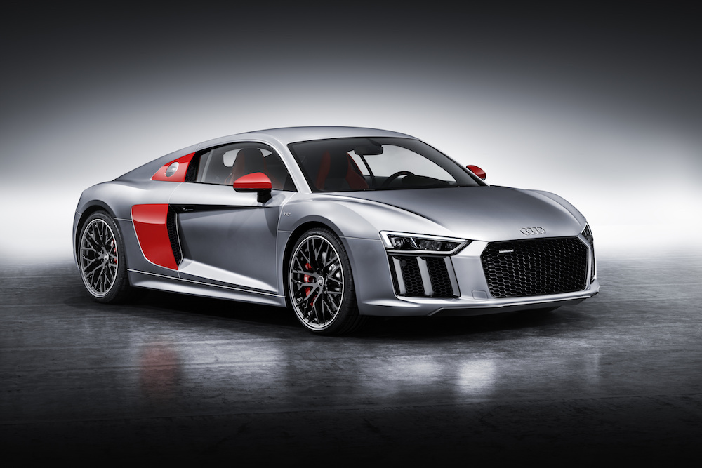 audi r8 coupe edition limitierte modelle sondereditionen