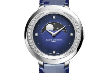 baume & mercier damenuhren modelle diamanten alligatorleder