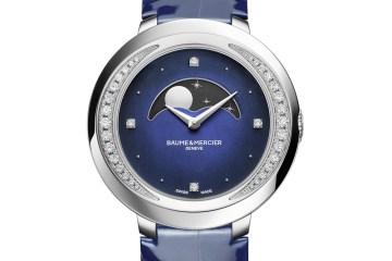 baume & mercier damenuhren modelle diamanten alligatorleder