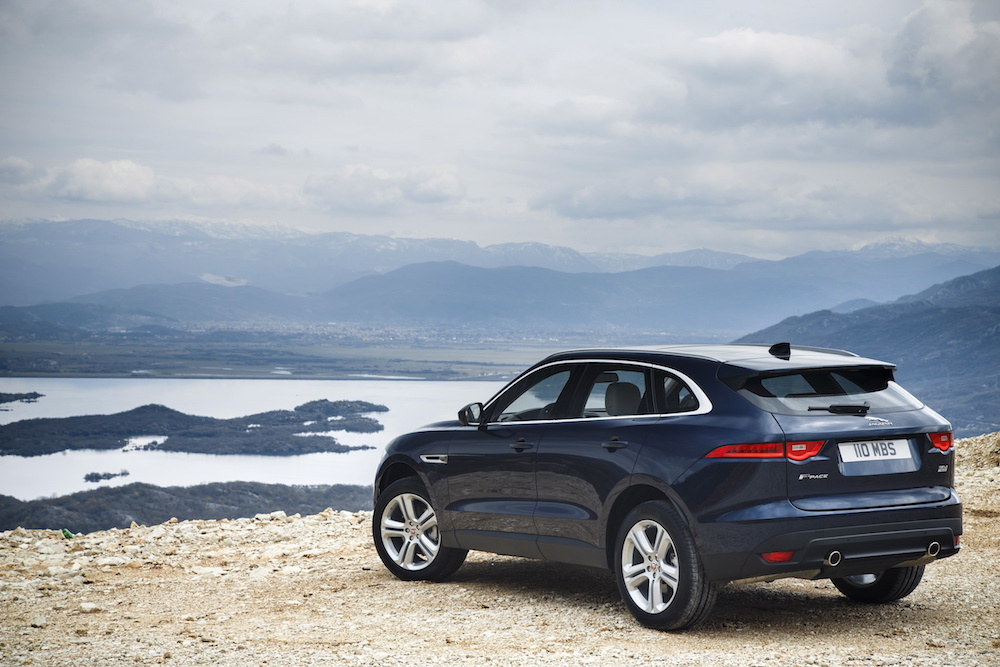 jaguar f-pace modelle 2018 neuheiten suv offroad