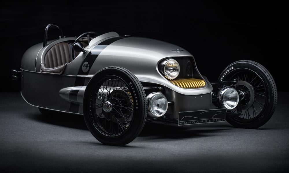morgan ev3 electric vehicle car cars uk british hand crafted zero emissions sportscar