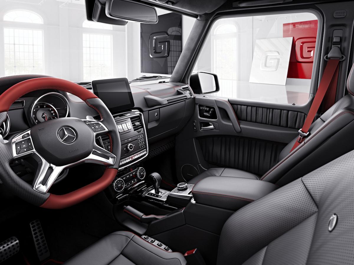 mercedes-benz mercedes-amg mercedes gklasse g-klasse suv offroad vierrad geländefahrzeug interieur