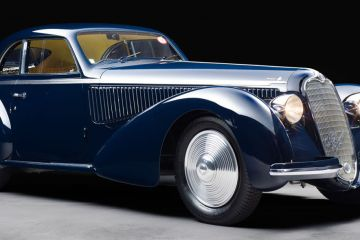 1938 Alfa Romeo 8C 2900B Berlinetta by Touring