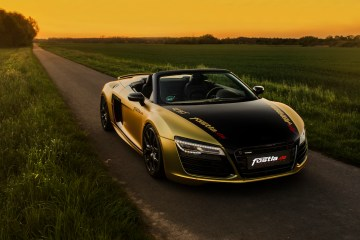 audi r8 v10 spyder car wrapping tuning sports-cars wrapped modified performance gold
