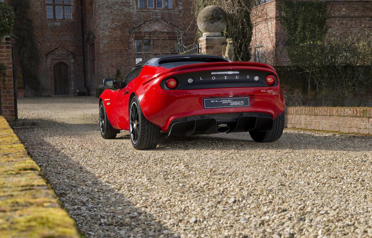 lotus elise sprint new models cars