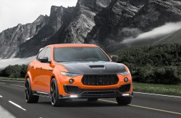 mansory maserati levante suv luxus veredelung carbon motor interieur