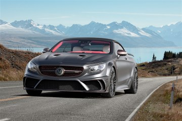 mansory mercedes-benz s63 amg convertible