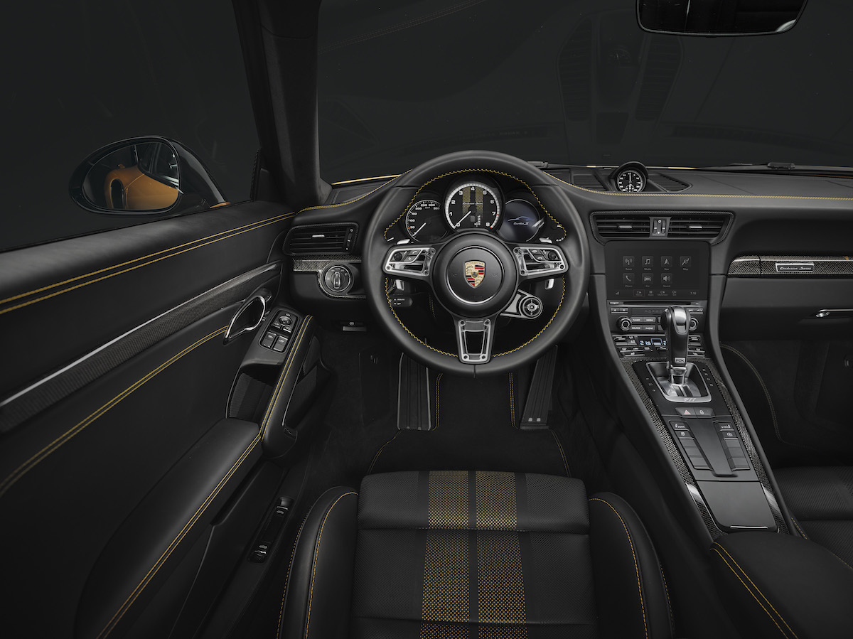 porsche 911 turbo s model models limited special sports car interior