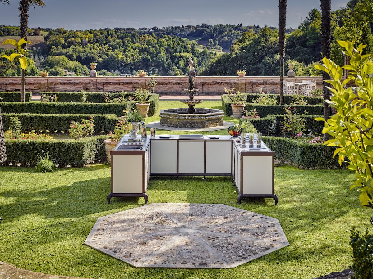 furniture furnishings outdoor kitchen kitchens refrigerator