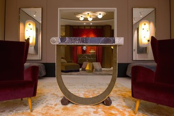 achille salvagni tables chairs interiors marble design new luxury furniture limited