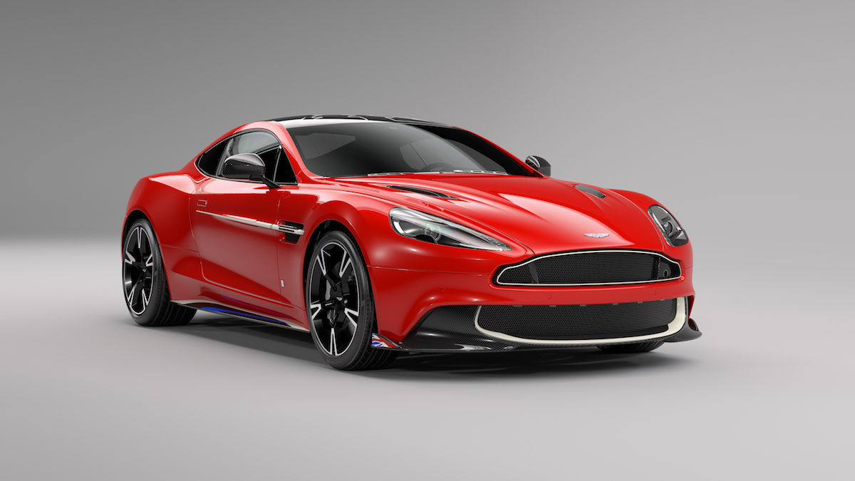 aston martin vanquish s red arrows limited edition