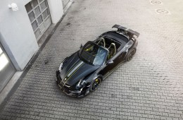 techart gtstreet r cabriolet porsche 911 turbo models performance