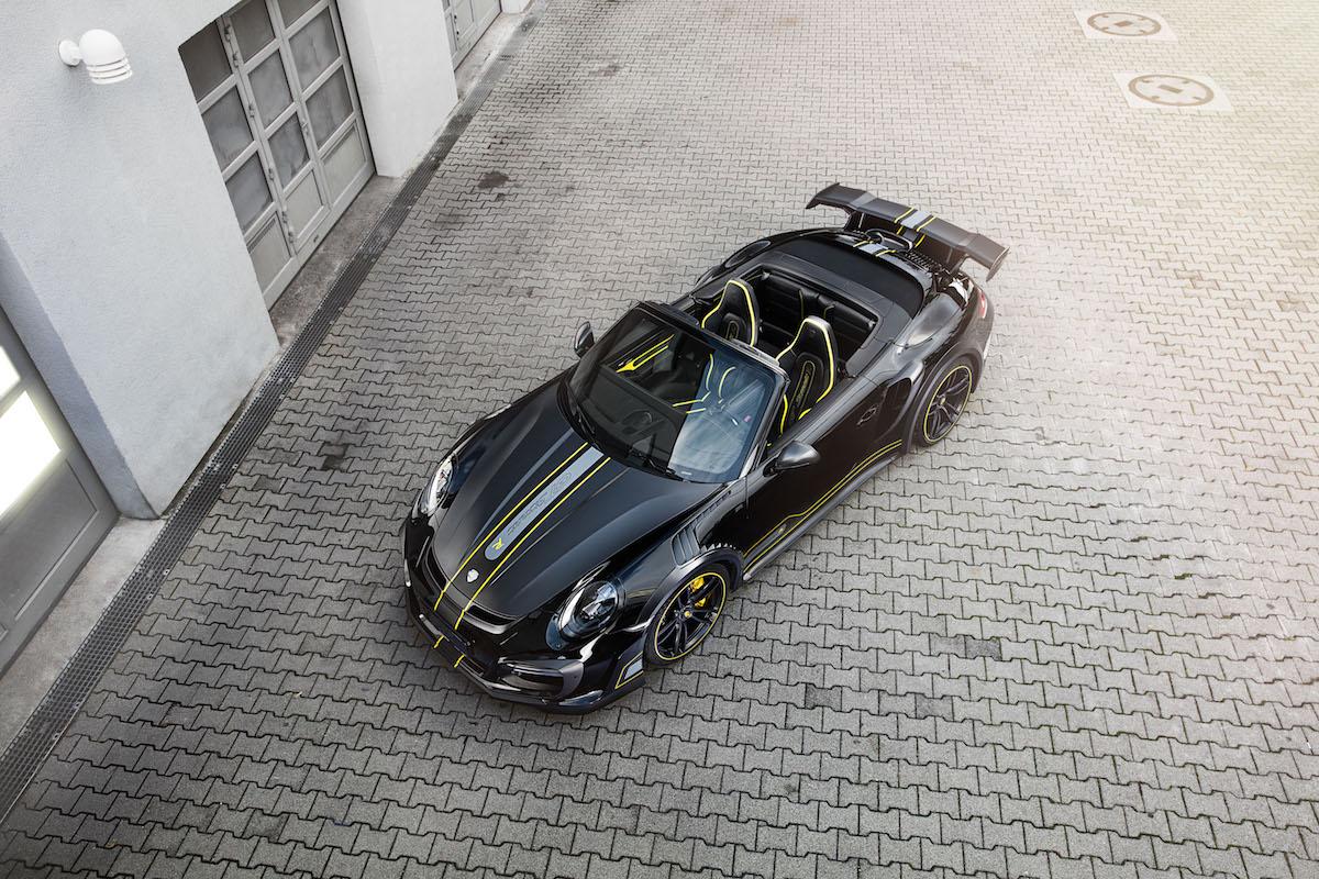 techart gtstreet r cabriolet porsche 911 turbo cabrio modelle allradantrieb