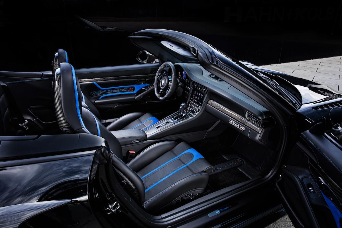 techart gtstreet r cabriolet porsche 911 turbo cabrio modelle innenraum