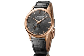 chopard uhrenkollektion limitiert luxus kollektion gold