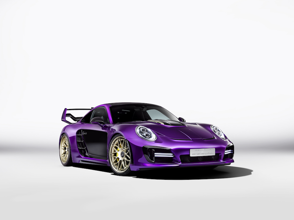 gemballa gemballa-avalanche porsche 911 turbo sportwagen modell