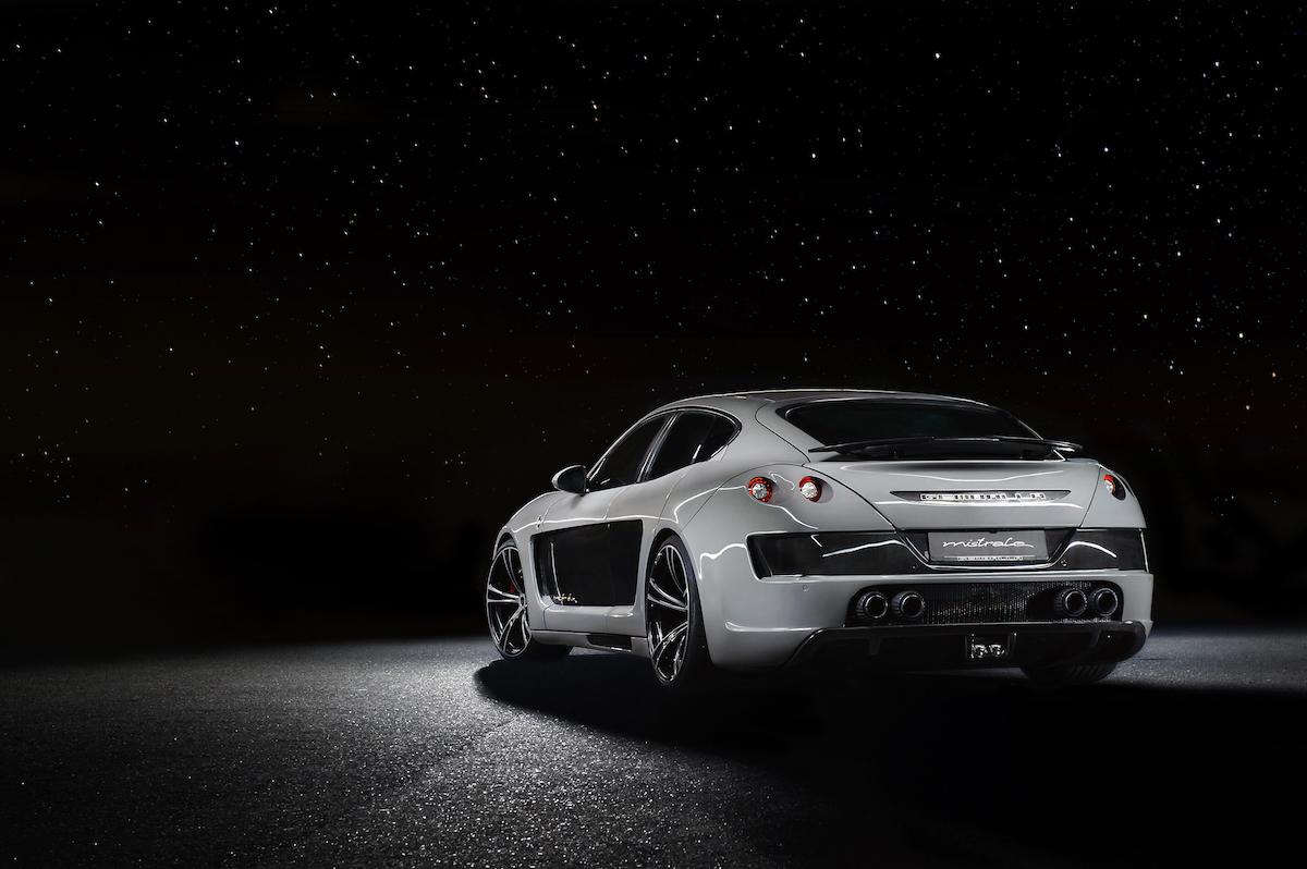 gemballa mistrale porsche panamera carbon model luxury limousine ultra-light