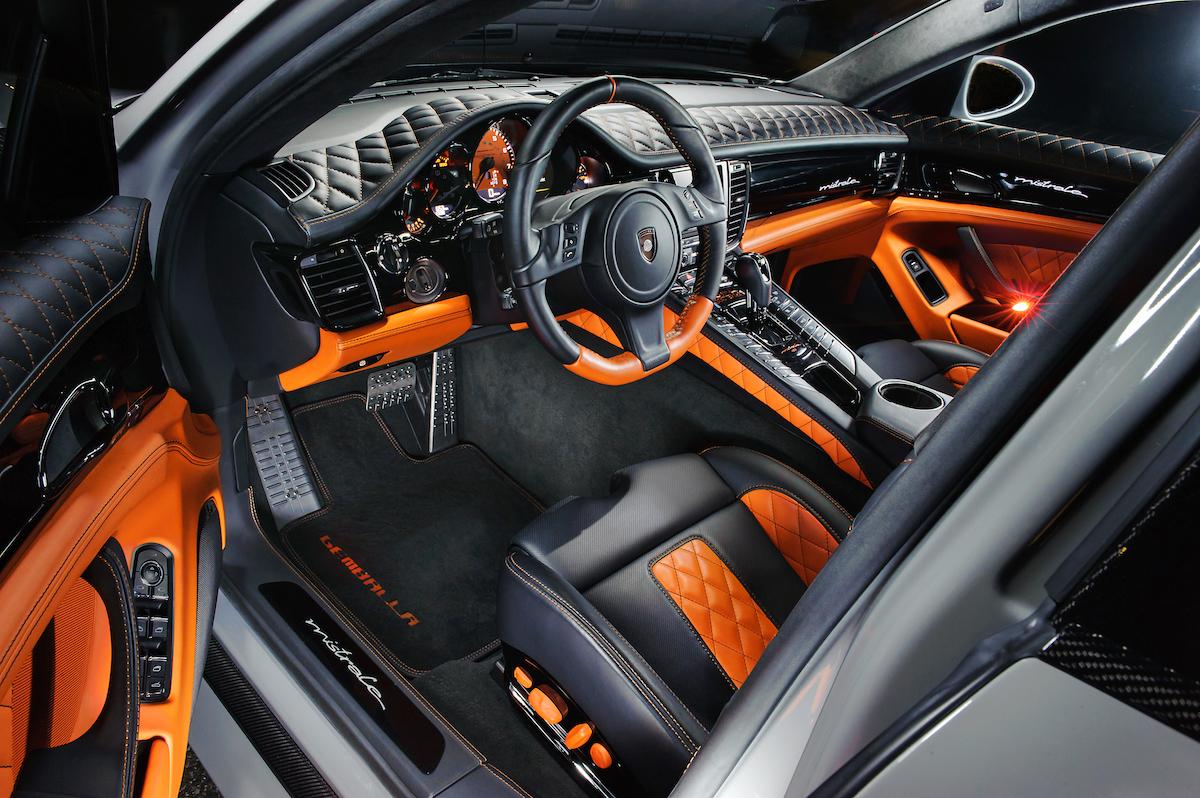 gemballa mistrale porsche panamera modelle carbon leistungssteigerung 911 luxuslimousine innenraum