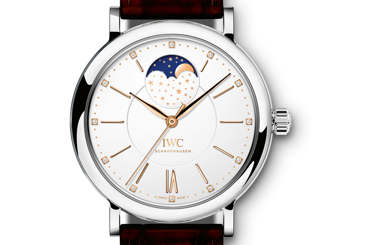 iwc luxusuhren modelle tourbillon automatic rotgold gold armbanduhren kollektion