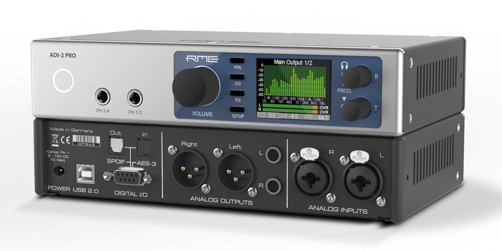 rme audio high-end wandler klang kopfhörer verstärker kopfhörerverstärker